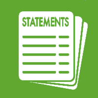 View your Statements &VAT Receipts